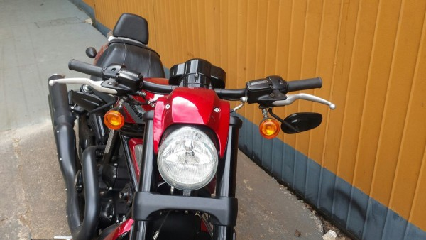 Guidon Reto Harley Davidson Night Rod